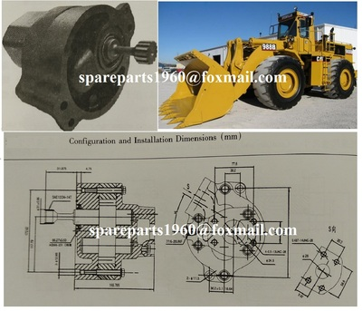 3P0380 Cat Gear Pump