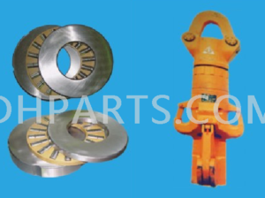 Bearings for hook