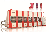 Intelligent eva foam injection moulding machine